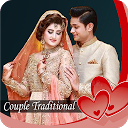 Couple Traditional photo background changer frames APK