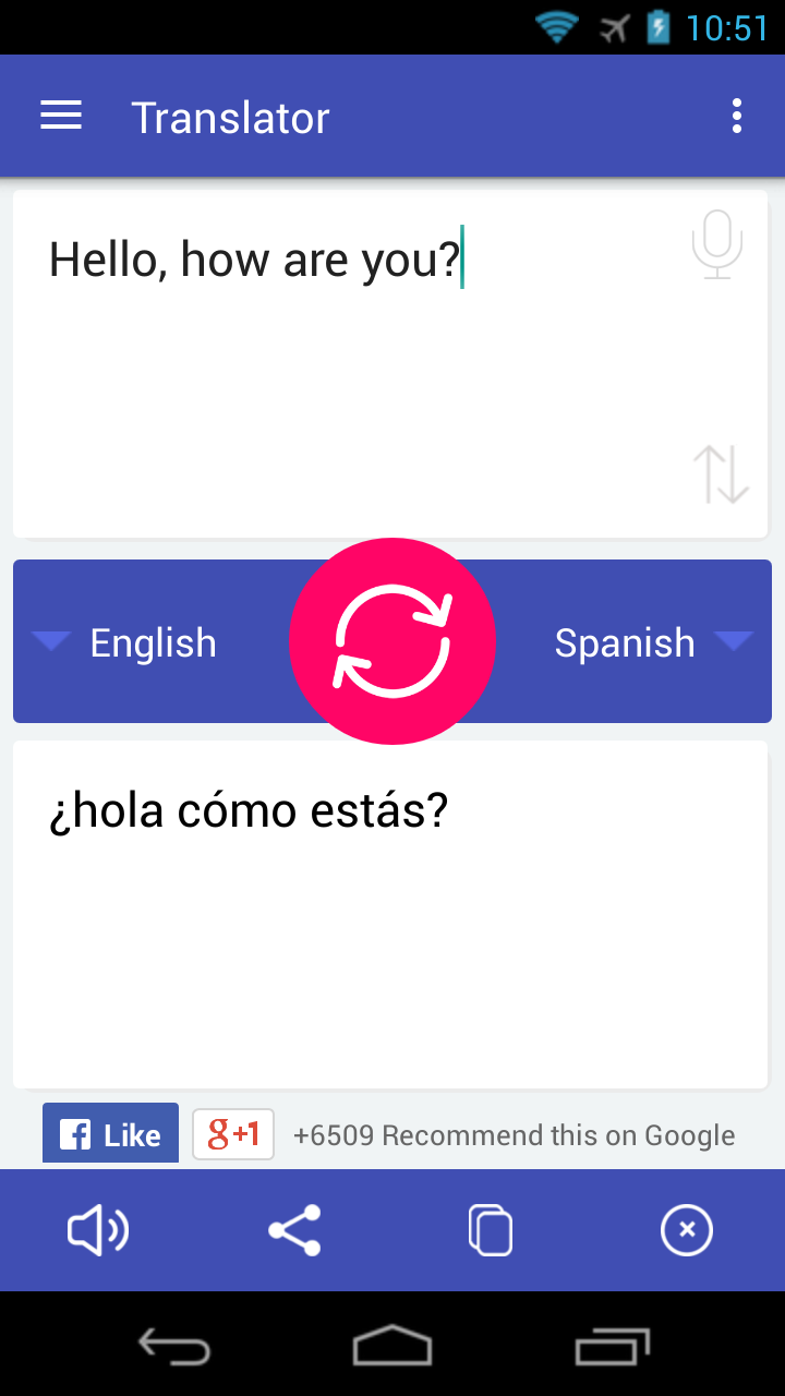 Translate Screenshot 2