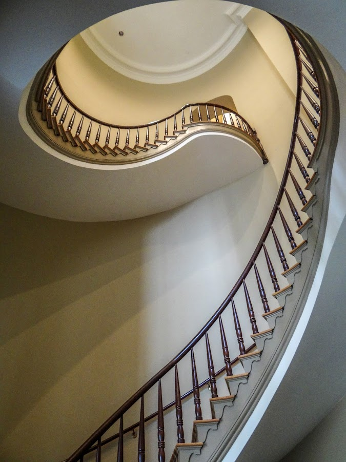 Stairs by Keith Ellington - Buildings & Architecture Architectural Detail ( stairs, jackson, buildings and structures, buildings, state capitols, architectural detail, places, united states, mississippi )