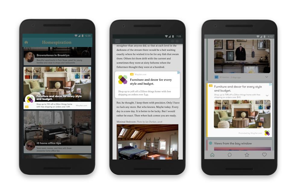 Tìm hiểu quảng cáo Google Đáp ứng trên mạng hiển thị