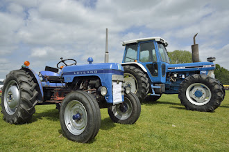 Photo: Leyland and Ford tractors.