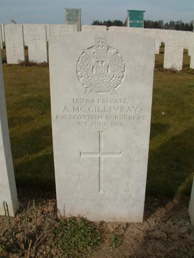 Alexander McGillivray grave