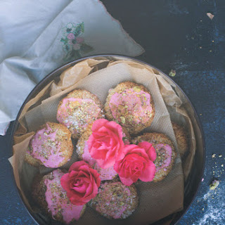 Flourless Coconut Macaroons with Rose and Pistachio Recipe