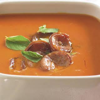 Chorizo Pepper Soup.