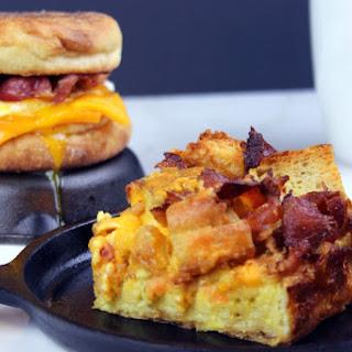 Egg & Bacon McMuffin Casserole Egg Bake