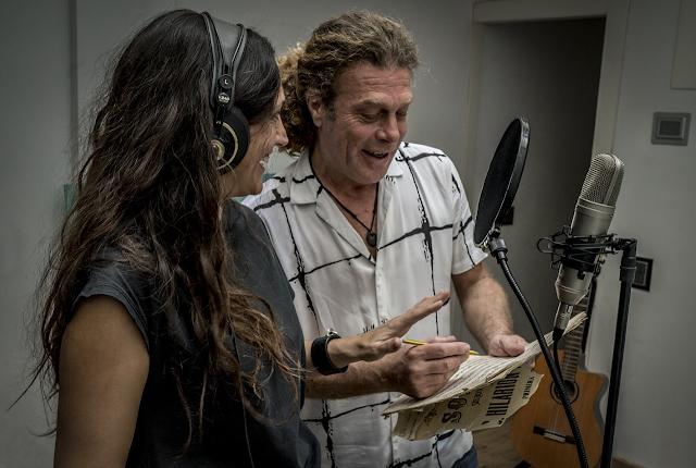 La grabación de su primer disco fue en casa por la pandemia y la falta se músicos se compensó con palmas y zapatazos (Foto: Francisco Conde).