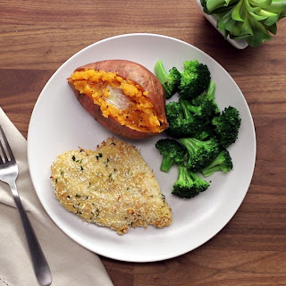 Panko Baked Chicken Breasts.
