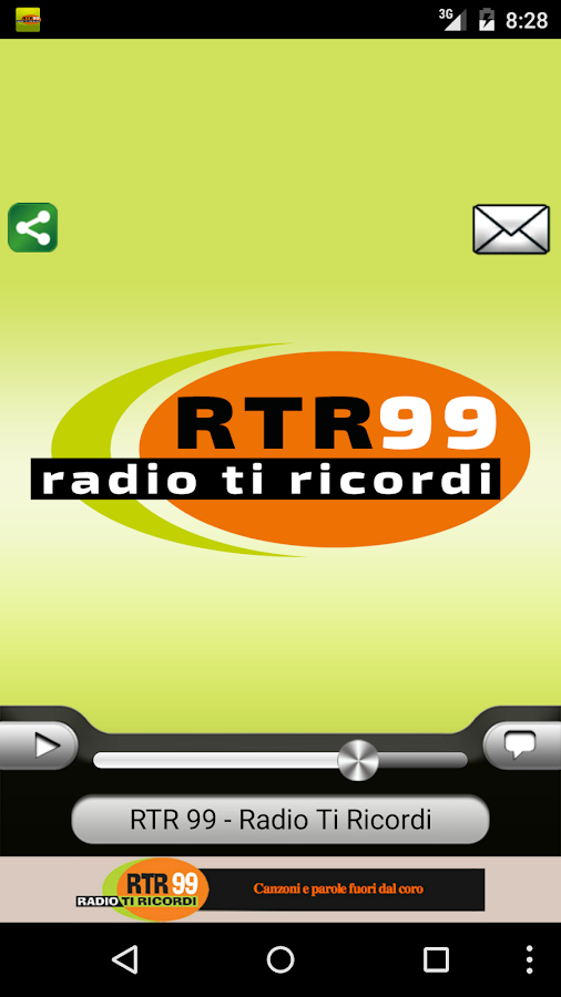 RTR 99 – Radio Ti Ricordi- screenshot