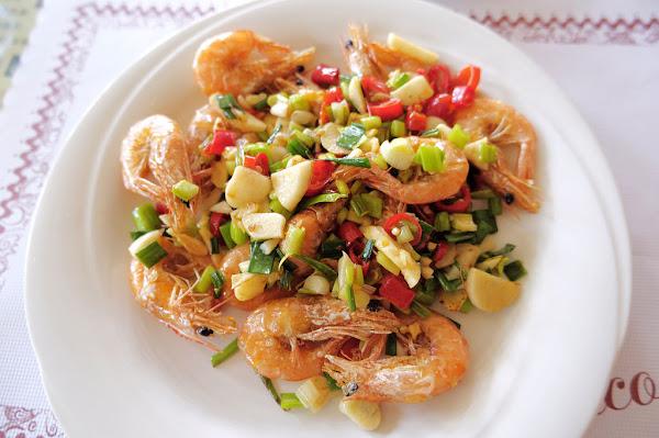 幸運草小築景觀餐廳 |鄰近蓬萊溪賞魚步道 |清蒸鱒魚、鹹酥蝦,口味還不錯