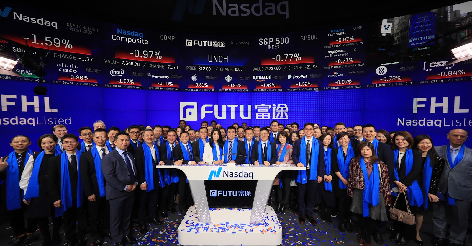 Best Brokerage Singapore Subsidiary of Futu Holdings listed in NASDAQ