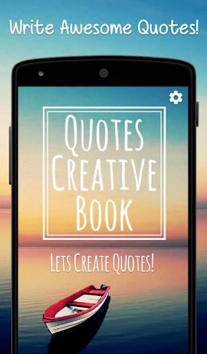 Creative Quotes Maker Book - Quotes Creator App screenshots 1