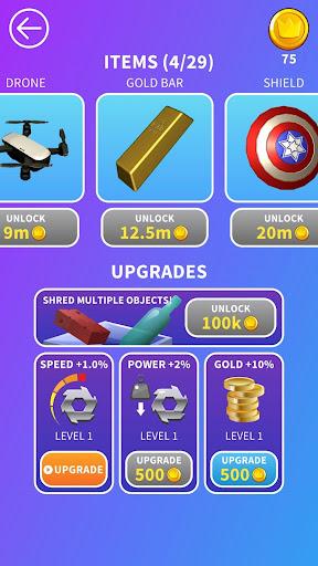 Will It Shred? Satisfying ASMR Shredding Game screenshot 8