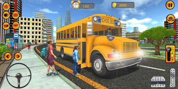 New York City School Bus - náhled