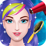 Princess Hair Salon Icon