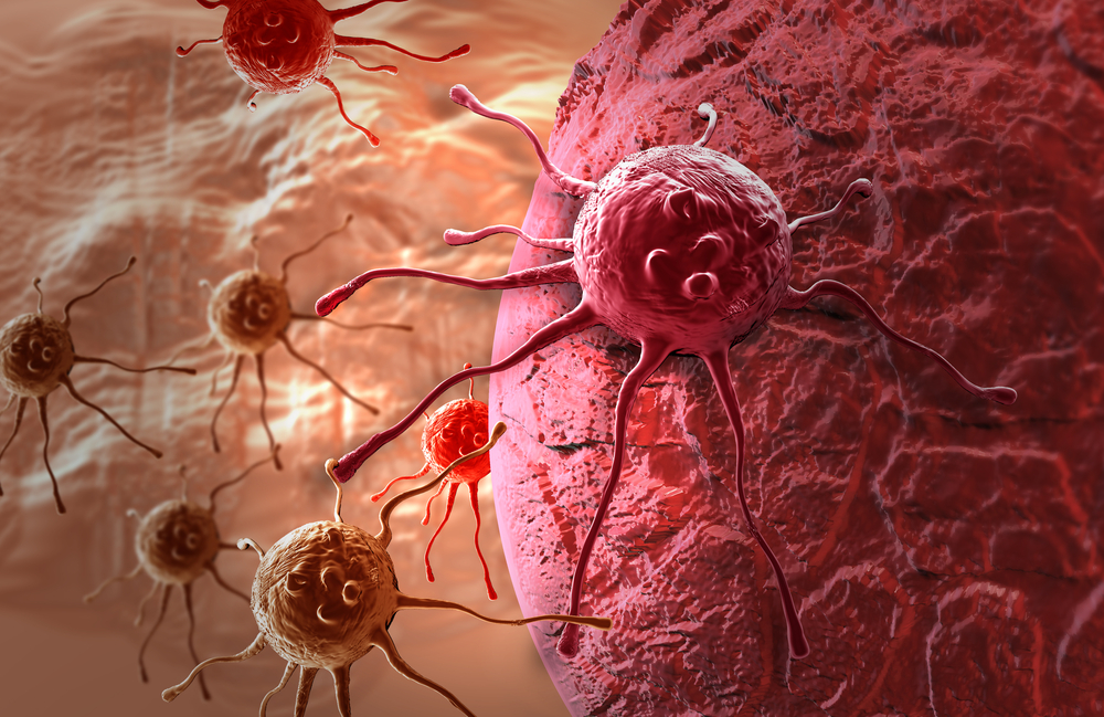 Célula invasora no corpo humano. (Fonte: Shutterstock)