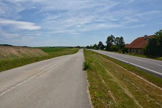 Photo: Ścieżka rowerowa szeroka niemal jak główna droga :)