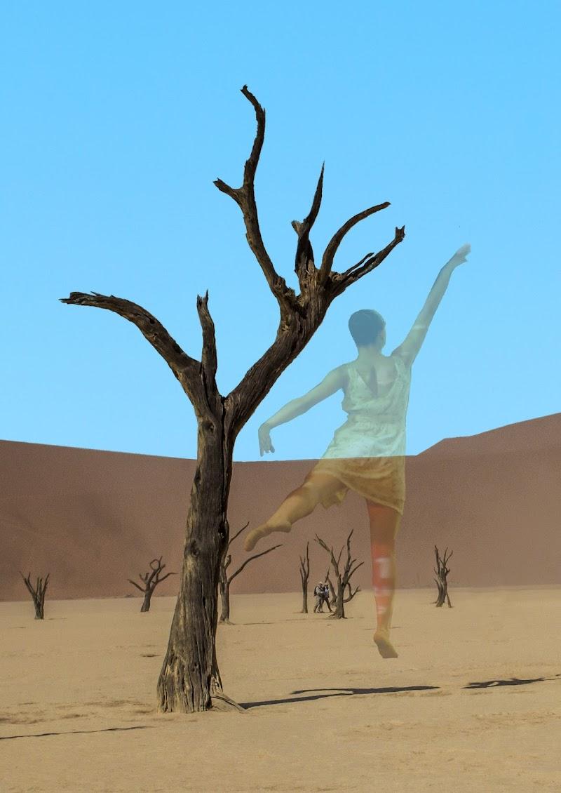 """Namibia. Deadvlei. """"Ballerina"""". di danisca"""