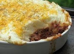 Hamburger Pot Pie Recipe