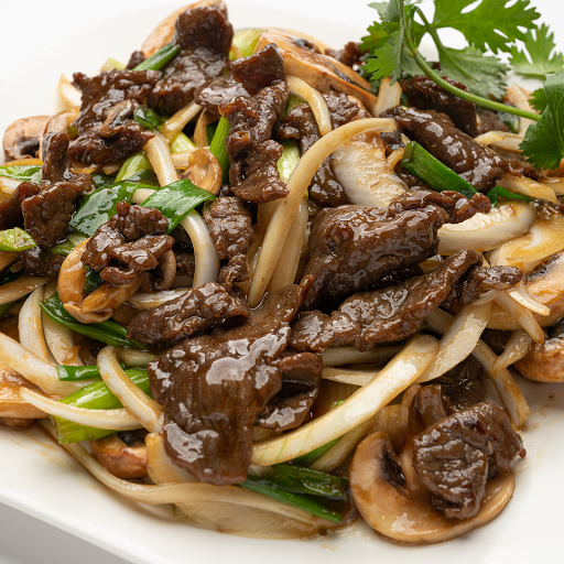 Stir fried Beef with Ginger & Onions