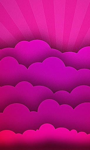 液体雲の壁紙