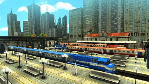 Train Racing Games 3D 2 Player - screenshot