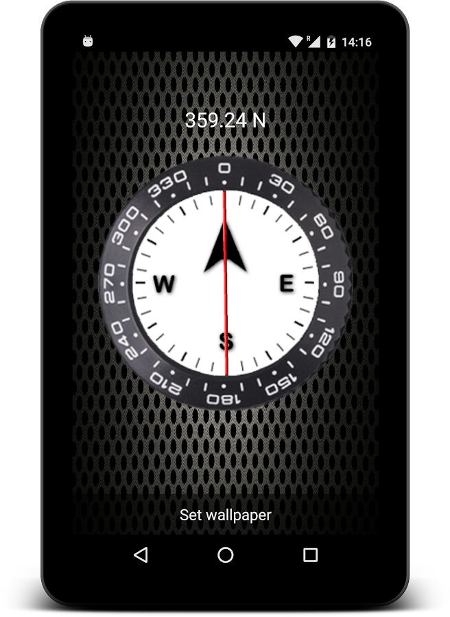 compass live wallpaper android market