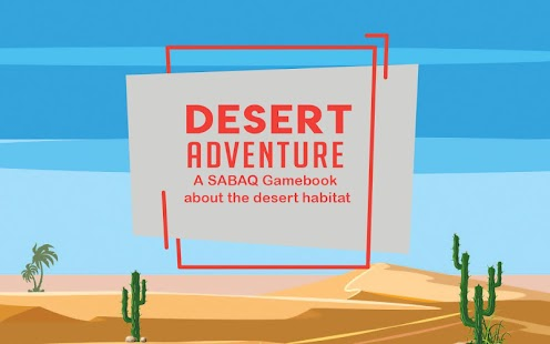 Desert Adventure - SABAQ Gamebook - náhled