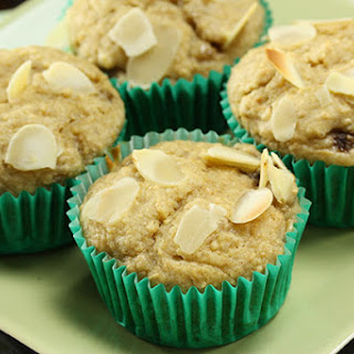 Banana, Almond & Cinnamon Muffin