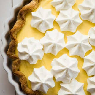 Mango Mousse Pie.