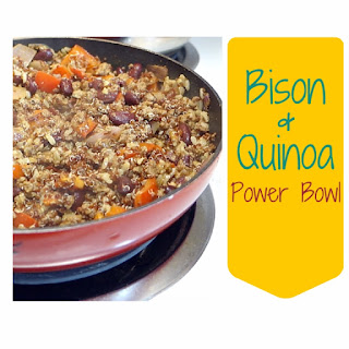 Bison & Quinoa Power Bowl