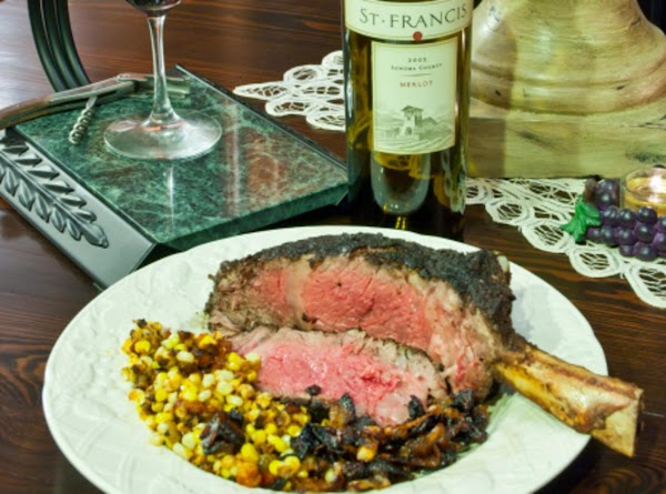 French-boned Ribeye For Two Recipe