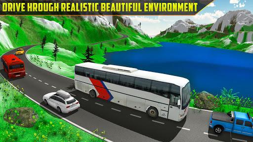 Offroad Bus Simulator Tourist Coach Driving 1.0 screenshots 2