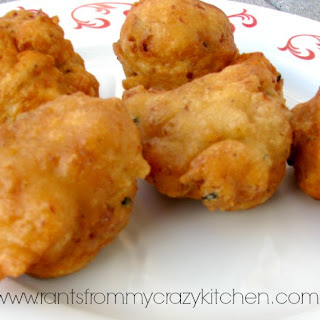 Clam Fritters.