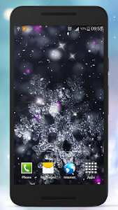 Romantic Snow Live Wallpapers screenshot 3