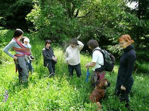 Photo: Botanickou exkurzi do rezervace vede již tradičně Michal Hájek (druhý zprava)