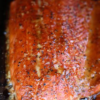 Cedar Plank Spice-Rubbed Salmon