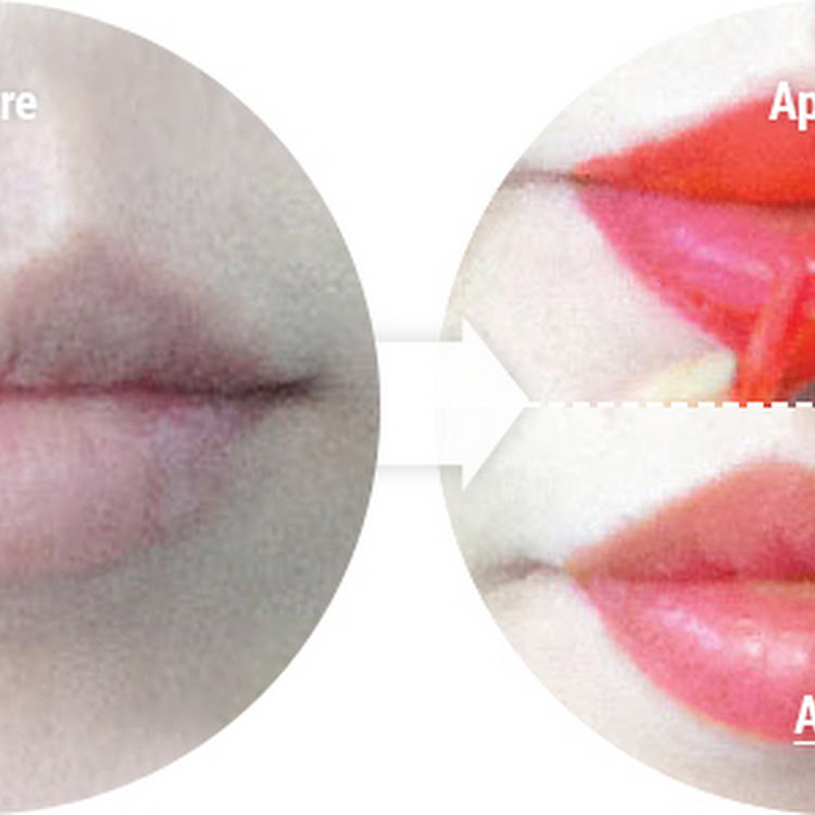 Skinfactory Touchfit Korean Lip Tattoo - Vita Fruits Peach
