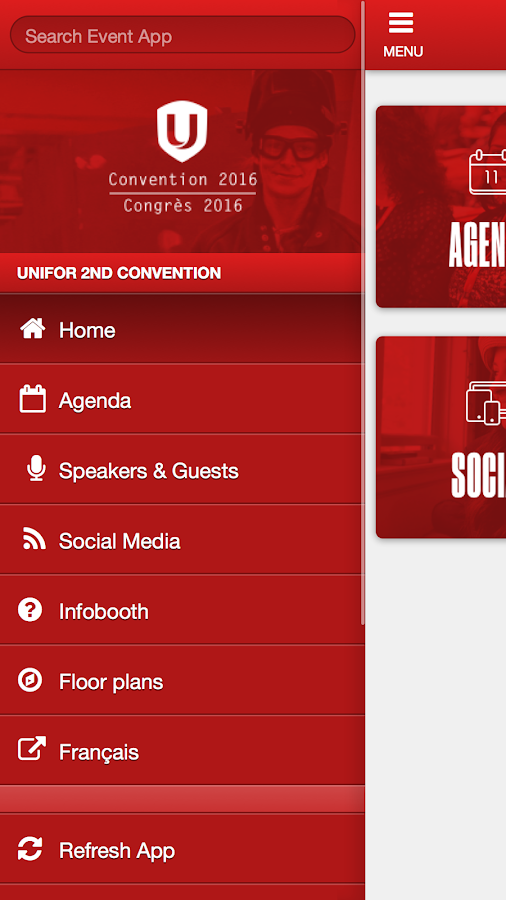 Unifor 2016- screenshot