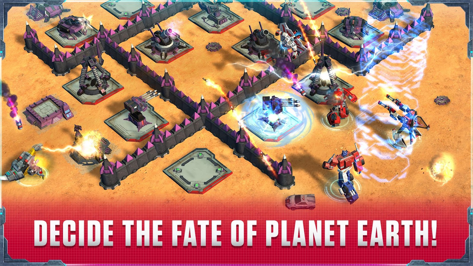 Transformers: Earth Wars Beta- screenshot