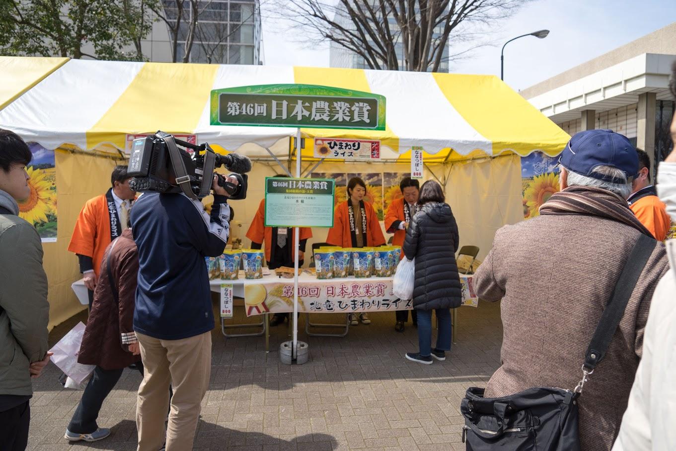 NHKの取材風景