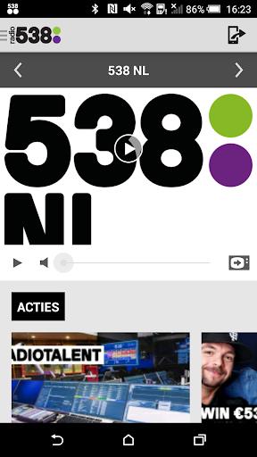 免費下載音樂APP|Radio 538 app開箱文|APP開箱王