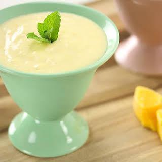 Mango Yoghurt Mousse.