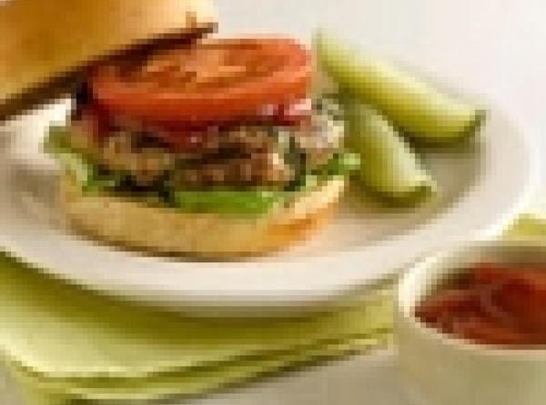Turkey Burgers Recipe