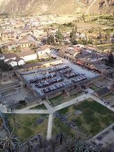 Photo: The Plaza of Ollantaytambo