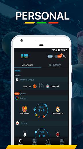 365Scores - Live Scores & Soccer News 10.5.6 screenshots 1