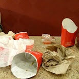 Wendy's aftermath at Anime North 2014 in Mississauga, Ontario, Canada