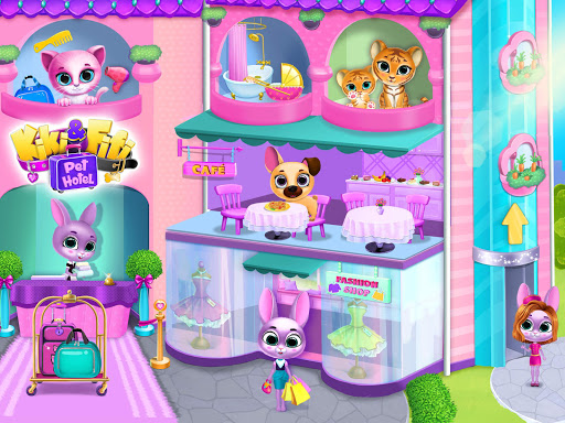 Kiki & Fifi Pet Hotelu2013 My Virtual Animal House 1.0.45 screenshots 9