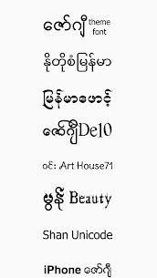 TTA Mi Myanmar Font Lite 5