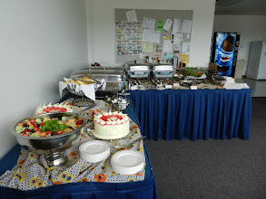 Photo: Delicious catered lunch!