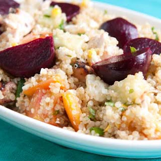Lemon Chicken Quinoa with Beets Recipe